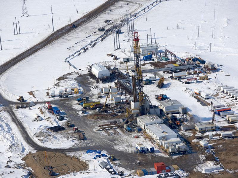 Обустройство нефтяного